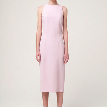 Pencil Dress in Pale Pink