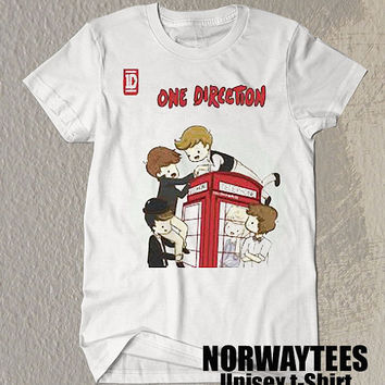 One Direction Shirt Phone Room Symbol Printed on White t-Shirt For Men Or Women Size TS 95