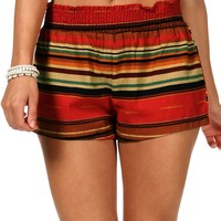 Sale Ethnic Striped Shorts