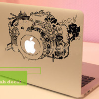 Camera- Decal laptop MacBook pro decal MacBook decal MacBook air sticker
