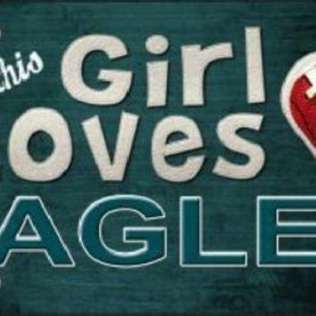 This Girl Loves Her Eagles NFL Tag