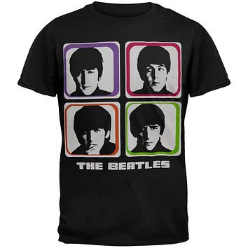 The Beatles - Four Colored Squares T-Shirt