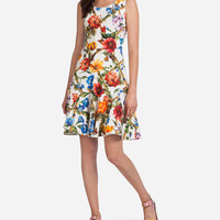 Women's dresses: clothing for women Dolce&Gabbana - PRINTED COTTON DRILL DRESS