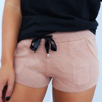Pick & Choose Shorts: Rose Gold