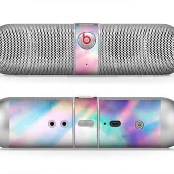 The Tie Dyed Bright Texture Skin for the Beats by Dre Pill Bluetooth Speaker