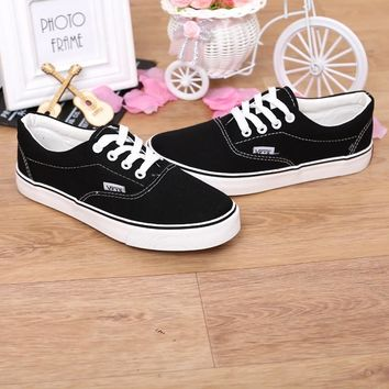 Vans look lace up canvas lace up front sneakers ~ 5 colors!