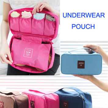 Women Portable Bra Protection Underwear Lingerie Travel Sports Storage Bag