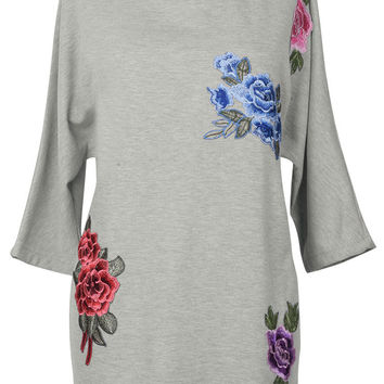 Cupshe Piece Of My Heart Tunic Sweatshirt