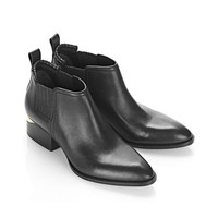 Alexander Wang KORI OXFORD WITH YELLOW GOLD BOOTS | Official Site