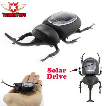 Novelty Creative Creative Science Experiment Beetle Insect Solar Drive Educational Insect Gadget Trick Toy Solares Kids Toys