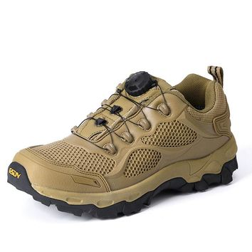 Outdoor Military Tactical Boots Sport Hiking Shoes Professional Climbing Camping Shoes for Men Combat Boots Sneakers