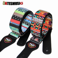 Guitar / electric guitar strap classical national style embroidery, electric guitar straps
