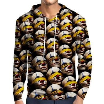 American Horror Story Clown Pattern Hoodie