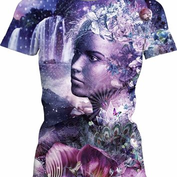 Nature Vibes Womens T-Shirt