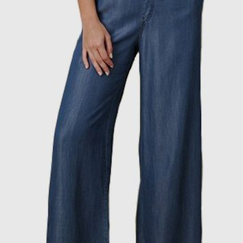 Adalyn Wide Leg Tencel Pants