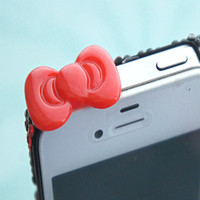 Kawaii Bow Phone Plug