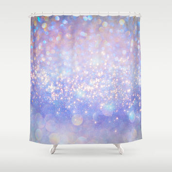 Leave a Little Sparkle (Dream Dust) Shower Curtain by soaring anchor designs ⚓ | Society6