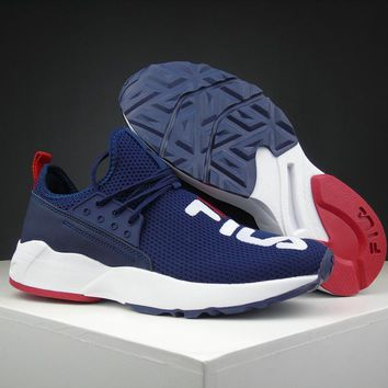 Fila Destroyer Navy Running Shoes Size 36 44.5
