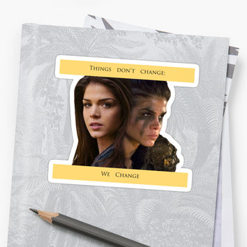 'Octavia Blake - Change' Sticker by Xojesss
