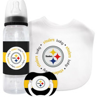 Pittsburgh Steelers NFL Baby Gift Set