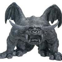 Bull Horned Gargoyle with Big Feet Statue 5.75H