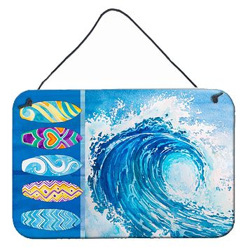Surf Boards and Wave Wall or Door Hanging Prints BB8528DS812