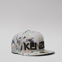 Kenzo Torn Flowers Print New Era 59FIFTY Hat - WOMEN - JUST IN - Accessories - Kenzo