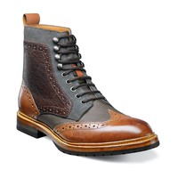 Stacy Adams Madison Wing Tip Lace Boot 00075