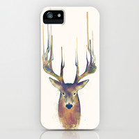 Deer // Steadfast iPhone & iPod Case by Amy Hamilton