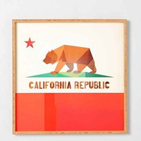 Fimbis For DENY California Framed Wall Art