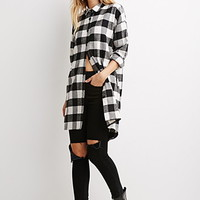 Plaid Flannel Oversized Shirt