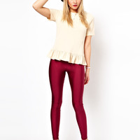 ASOS Leggings in Shimmer Effect