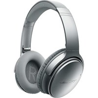 Bose® QuietComfort® 35 Acoustic Noise Cancelling® wireless headphones (Silver)