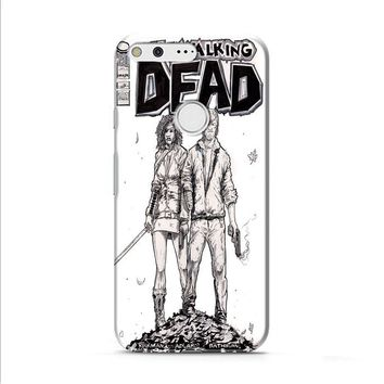 Walking Dead (michonne comics bw) Google Pixel XL 2 Case