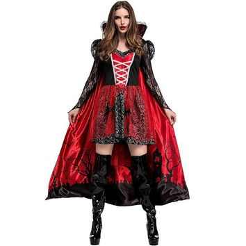 Cool halloween costumes for women heks cosplay sexy movie plus size vampire witch funny medieval fancy dress carnaval costume adultAT_93_12