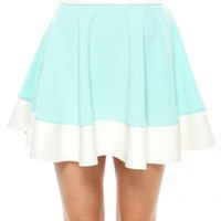 ALICE PASTEL SKATER DRESS - Foreign Exchange