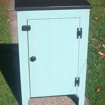 Primitive, Rustic, Shabby Chic, Hand Made, Storage, Cabinet, Farm House Decor,  Media, Pantry