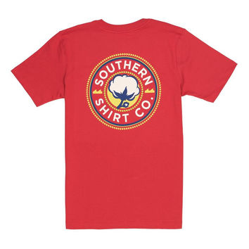 Youth Scout Logo SS in Racecar Red