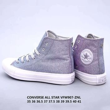 Free shipping-Converse Chuck Taylor All Star Gypsophila high-top men's and women's shoes canvas shoes