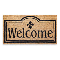 Welcome Coir Door Mat