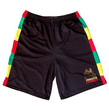 Jamaica Lions Sublimated Lacrosse Shorts