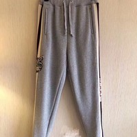 Gucci stripe cotton jogging pant