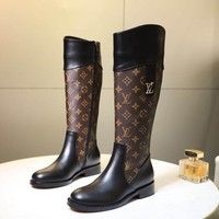 LV Louis Vuitton Women Heels Shoes Boots 2019 knight boot Winter