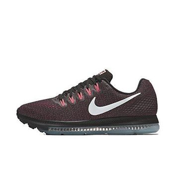 Nike Women's Zoom All Out Low Running Shoes-Black/White-Lava Glow