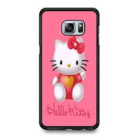 Hello Kity Love Suit Samsung Galaxy S6 Edge Plus Case