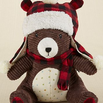 Pierre the Bear Plush Plus Hat for Baby