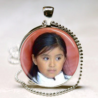 Personalized Necklace - Custom Photo Pendant- Personalized charm-Photo Charm- Custom Photo