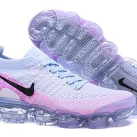 HCXX N338 Nike Air Vapormax Flyknit 2 Casual Running Shoes White Pink Black