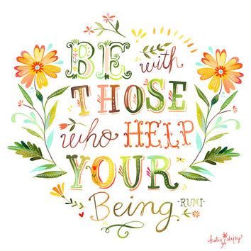Help Your Being - horizontal print