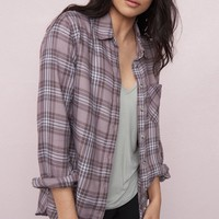 Soft Flannel Boyfriend Shirt